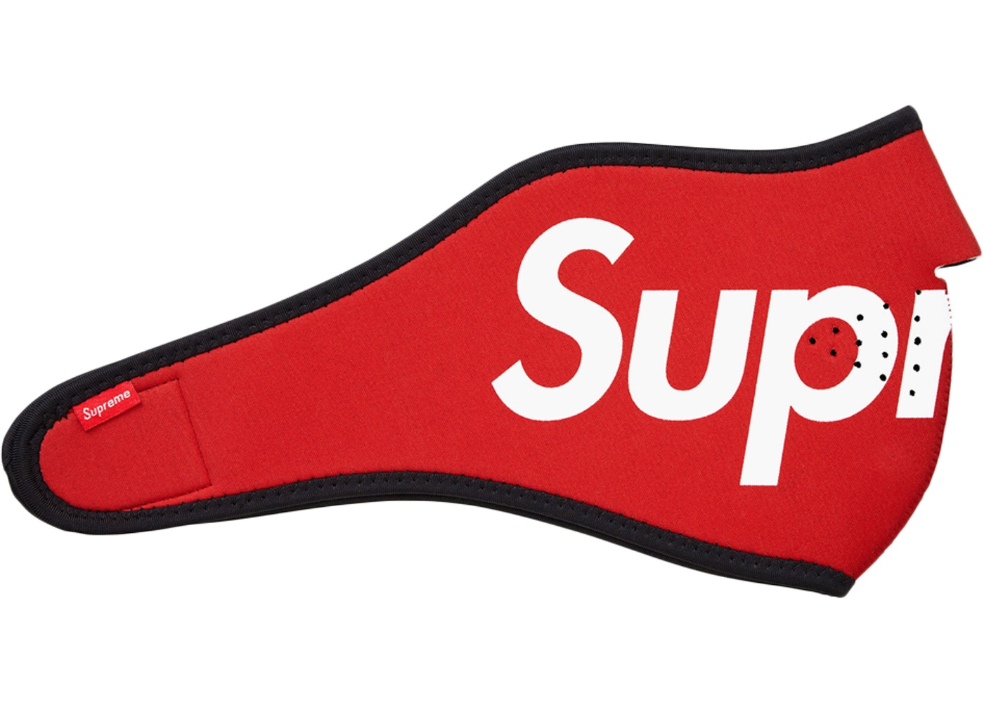 Or Ask View All Bids Supreme Logo Facemask Red