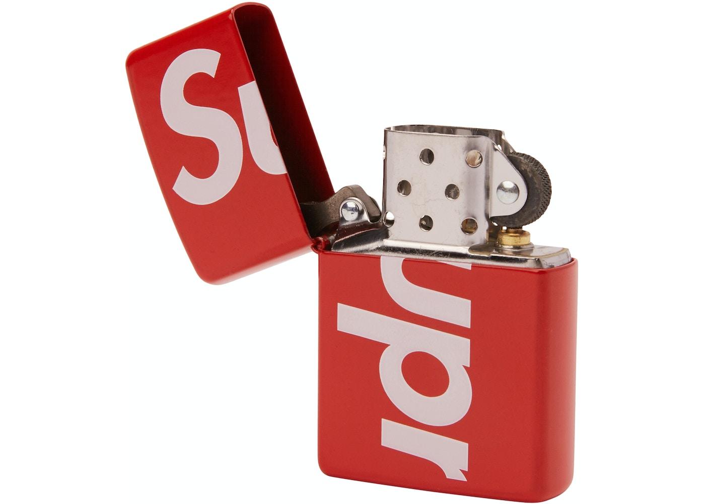Tradition Auto Sales >> Supreme Logo Zippo Red - SS18