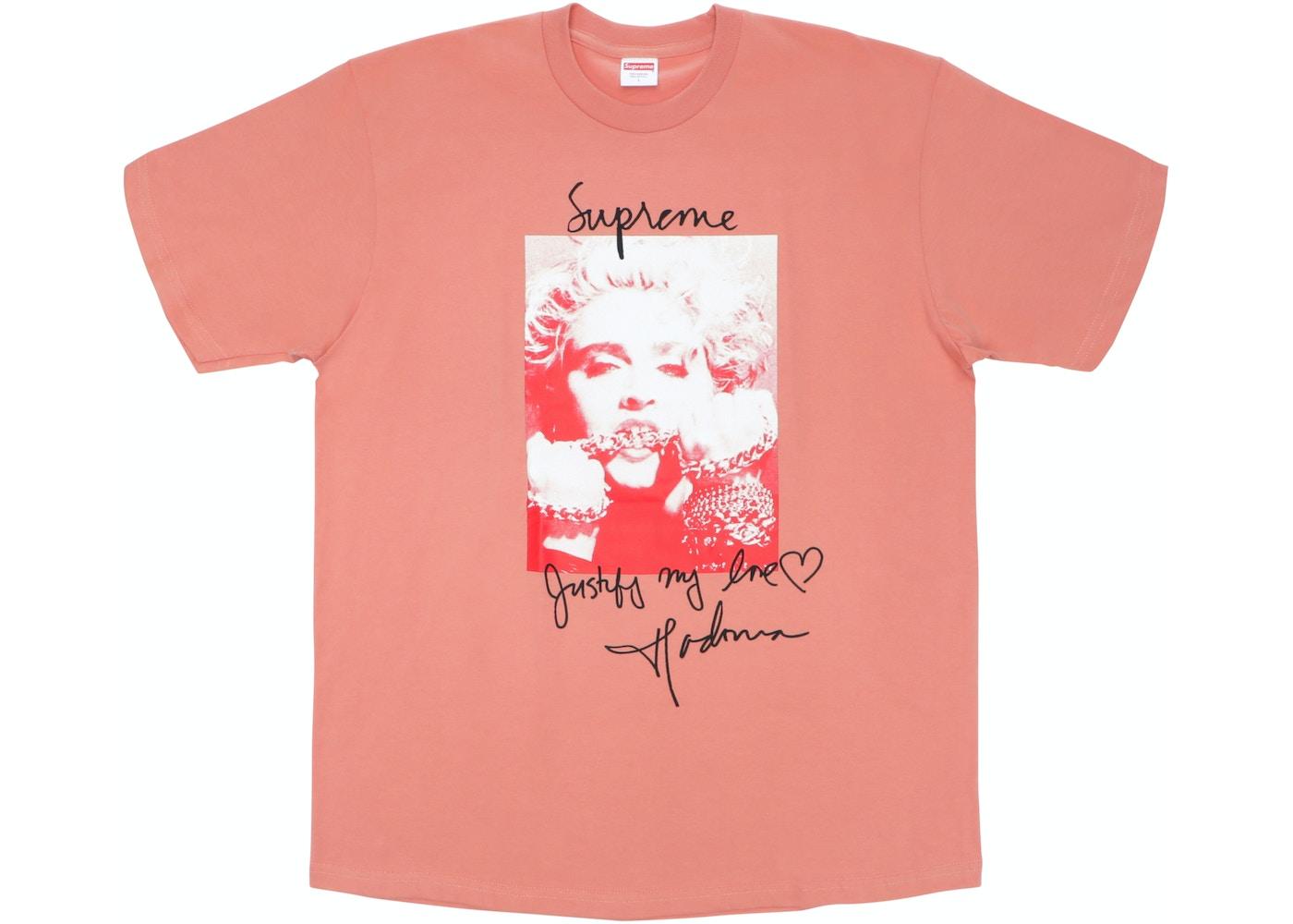 5a32c10e1 Supreme Madonna Tee Terra Cotta - FW18