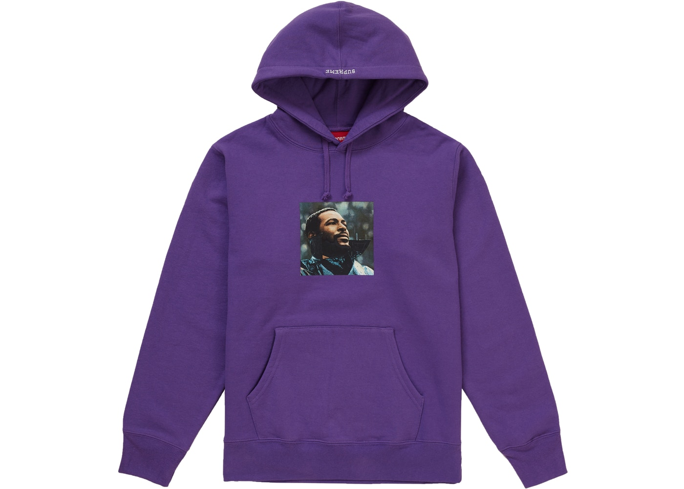 38f5b86f Sell. or Ask. Size M. View All Bids. Supreme Marvin Gaye Hooded Sweatshirt  Violet