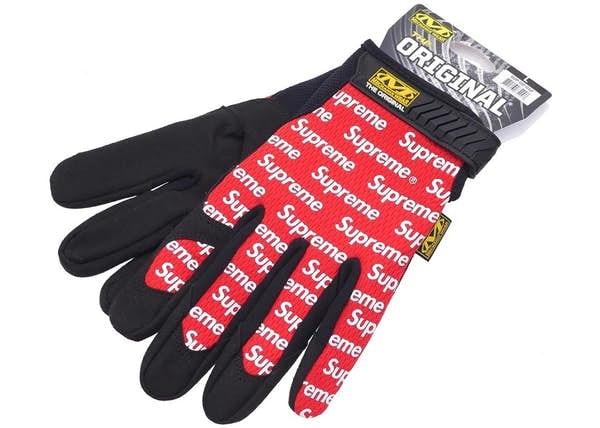 Supreme Mechanix Wear Gloves Red