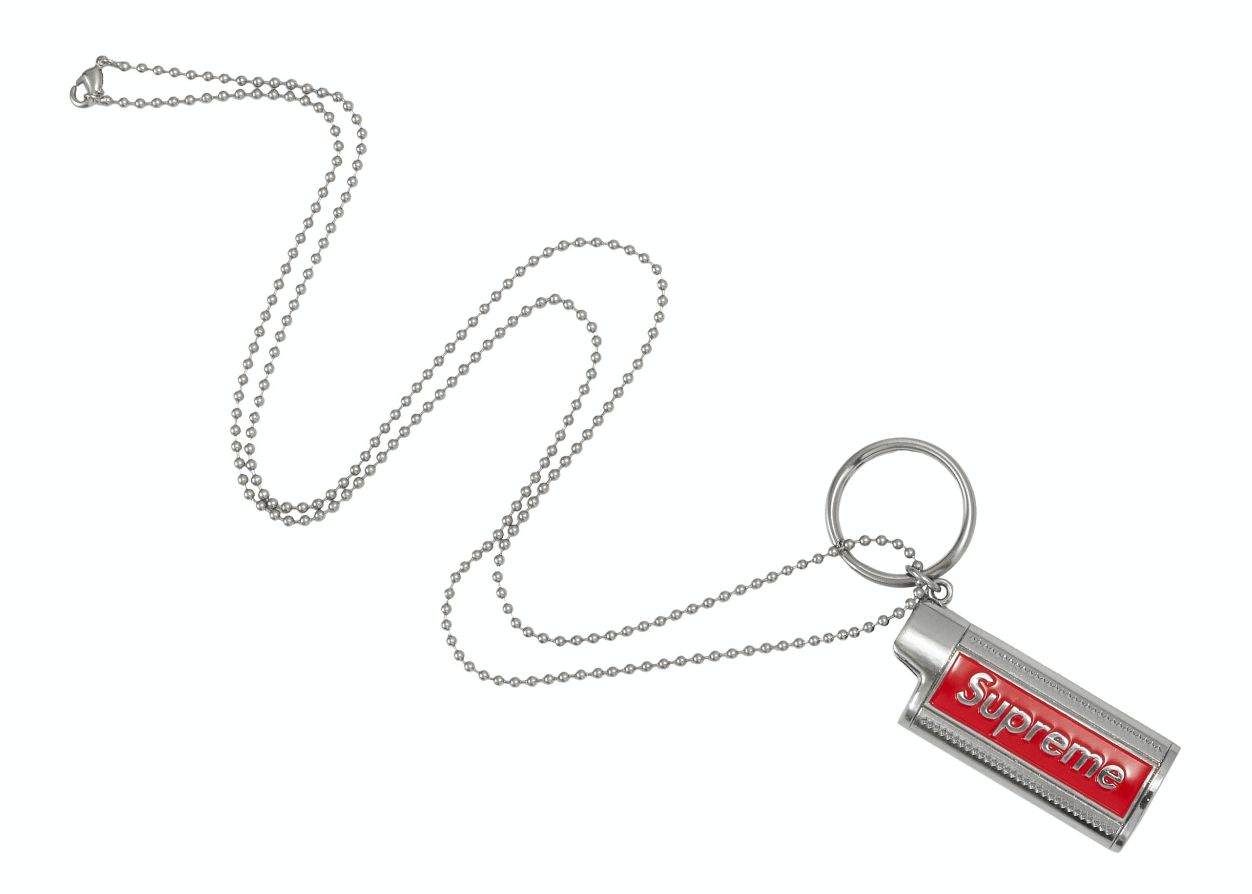 Supreme Metal Lighter Holster Silver
