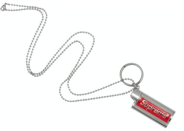 Supreme Metal Lighter Holster Silver
