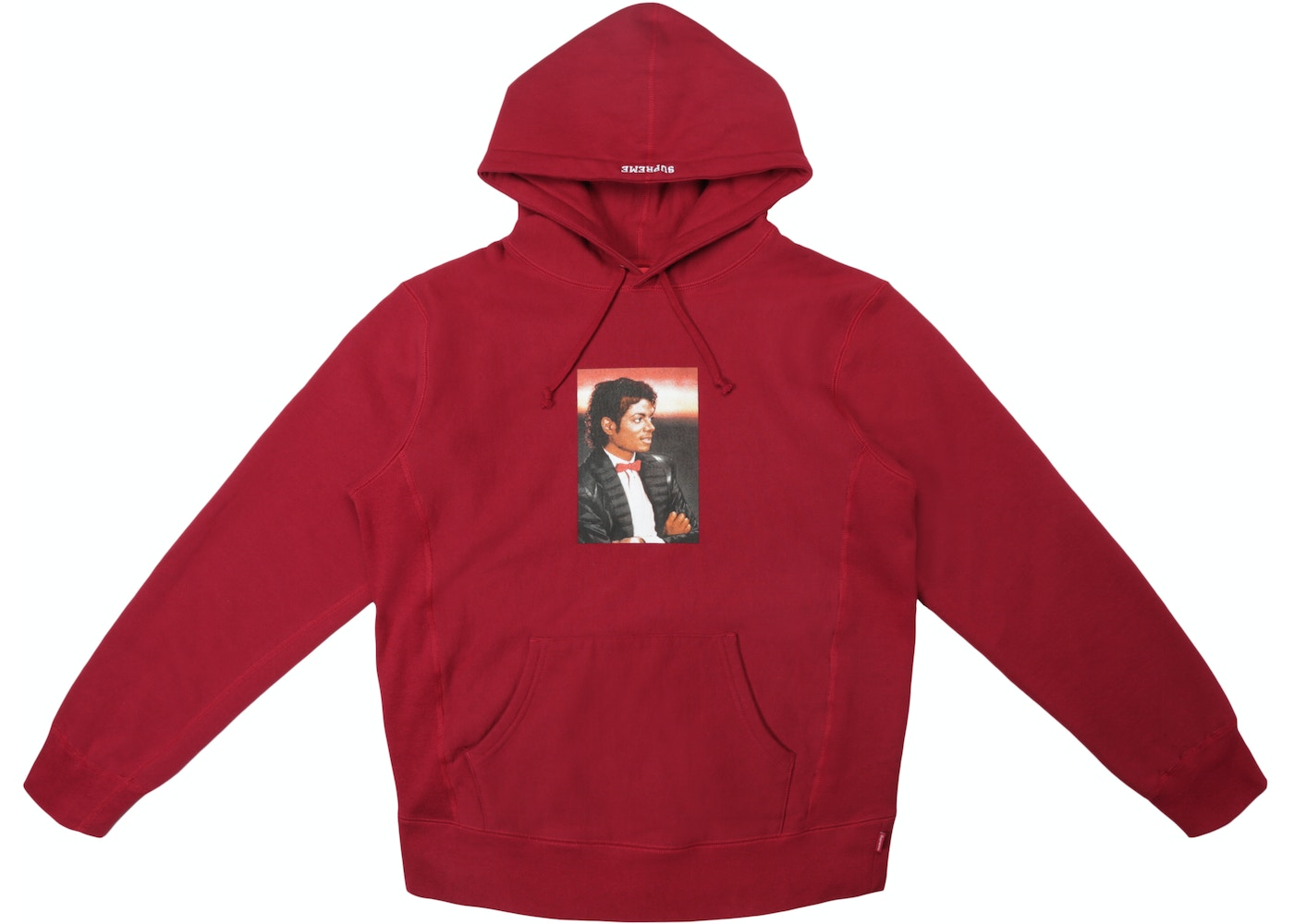 official photos ddefe 6a9df Sell. or Ask. Size  XL. View All Bids. Supreme Michael Jackson Hooded  Sweatshirt Cardinal