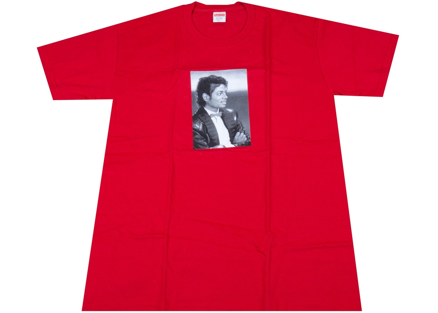 5bd8cb2889b6 Sell. or Ask. Size M. View All Bids. Supreme Michael Jackson Tee Red