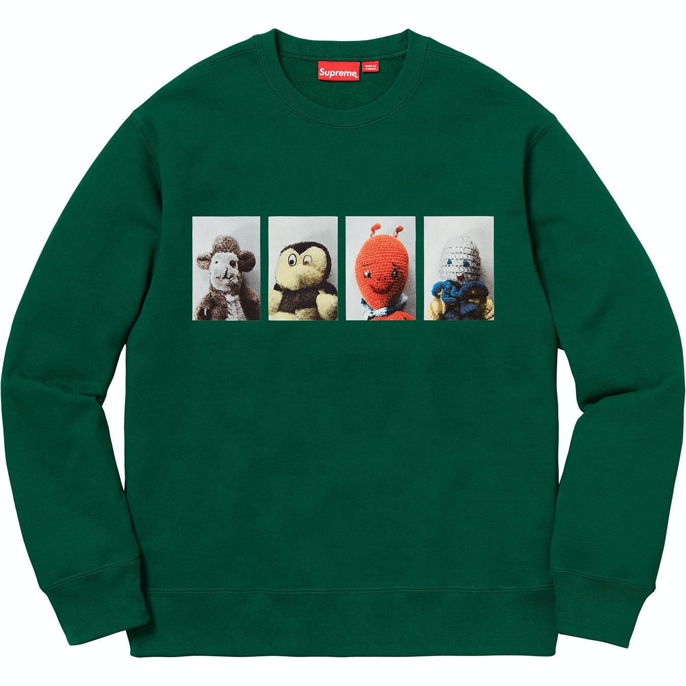Supreme Mike Kelley AhhYouth! Crewneck Sweatshirt Dark Green