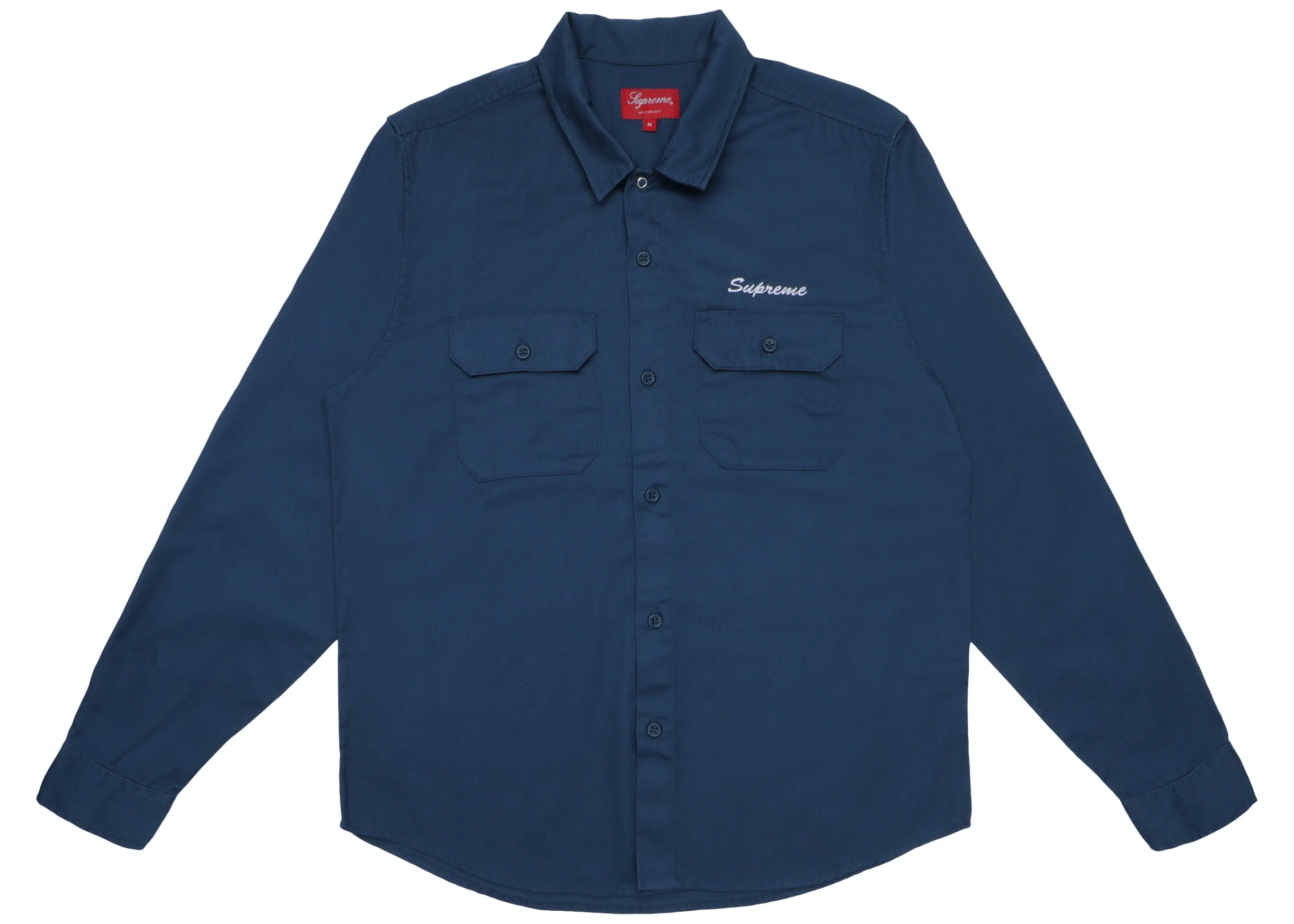 Supreme Mike Kelley AhhYouth! Work Shirt Navy
