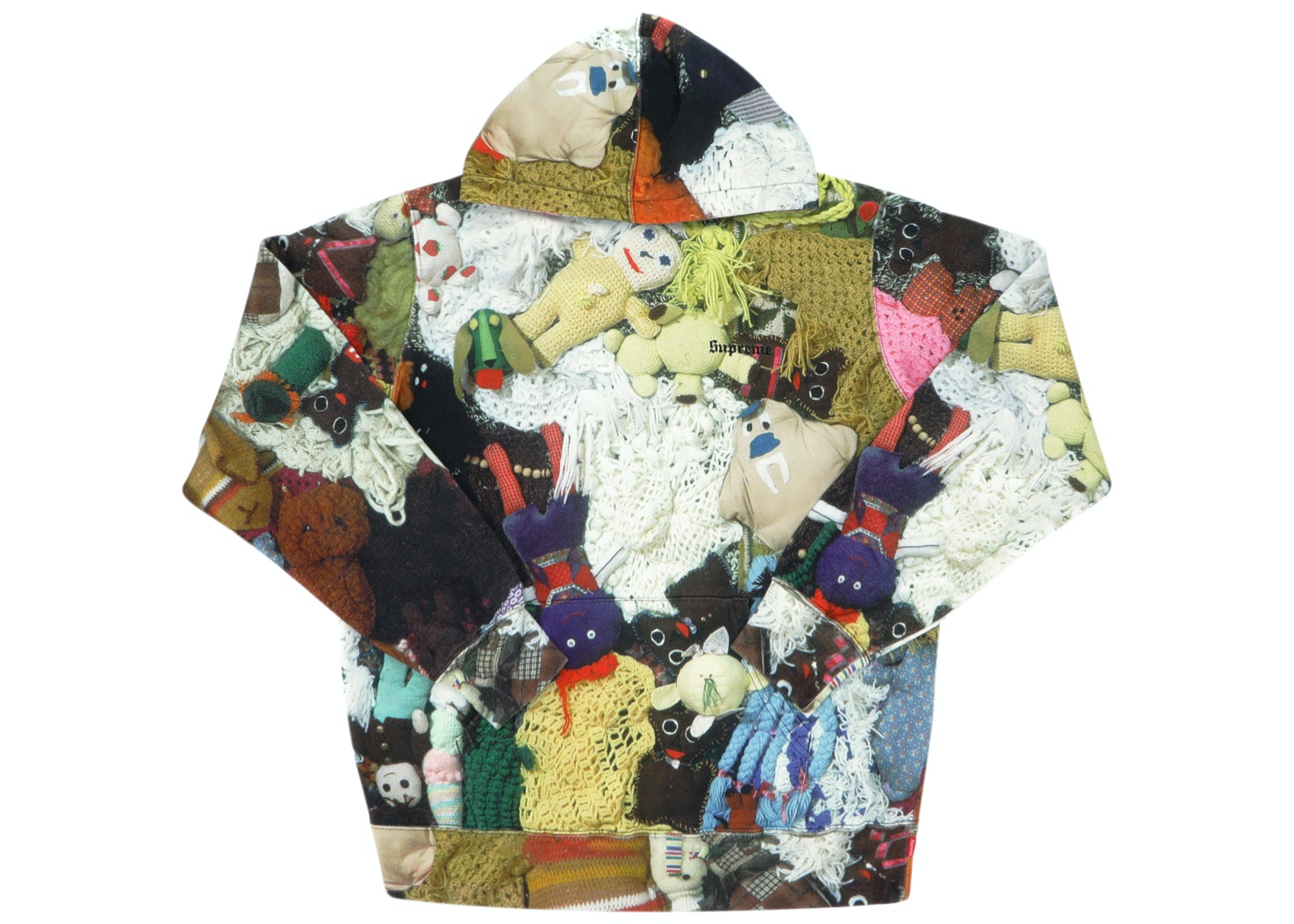 Supreme Mike Kelley More Love Hours Than Can Ever Be Repaid Hooded Sweatshirt Multicolor