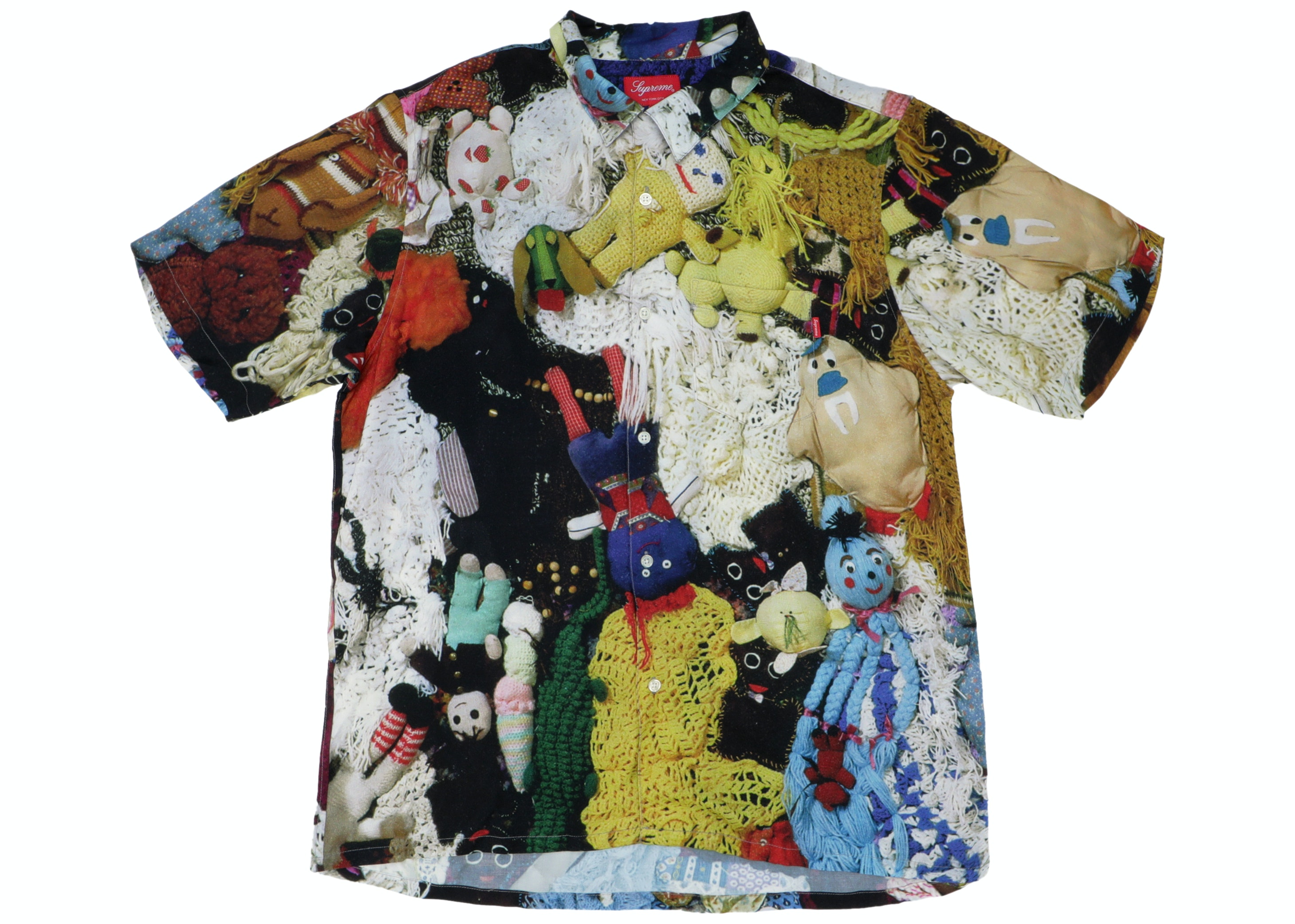 Supreme Mike Kelley More Love Hours Than Can Ever Be Repaid Rayon Shirt Multicolor