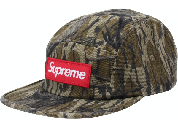b7100eb2 Supreme Military Camp Cap (FW18) Mossy Oak Camo