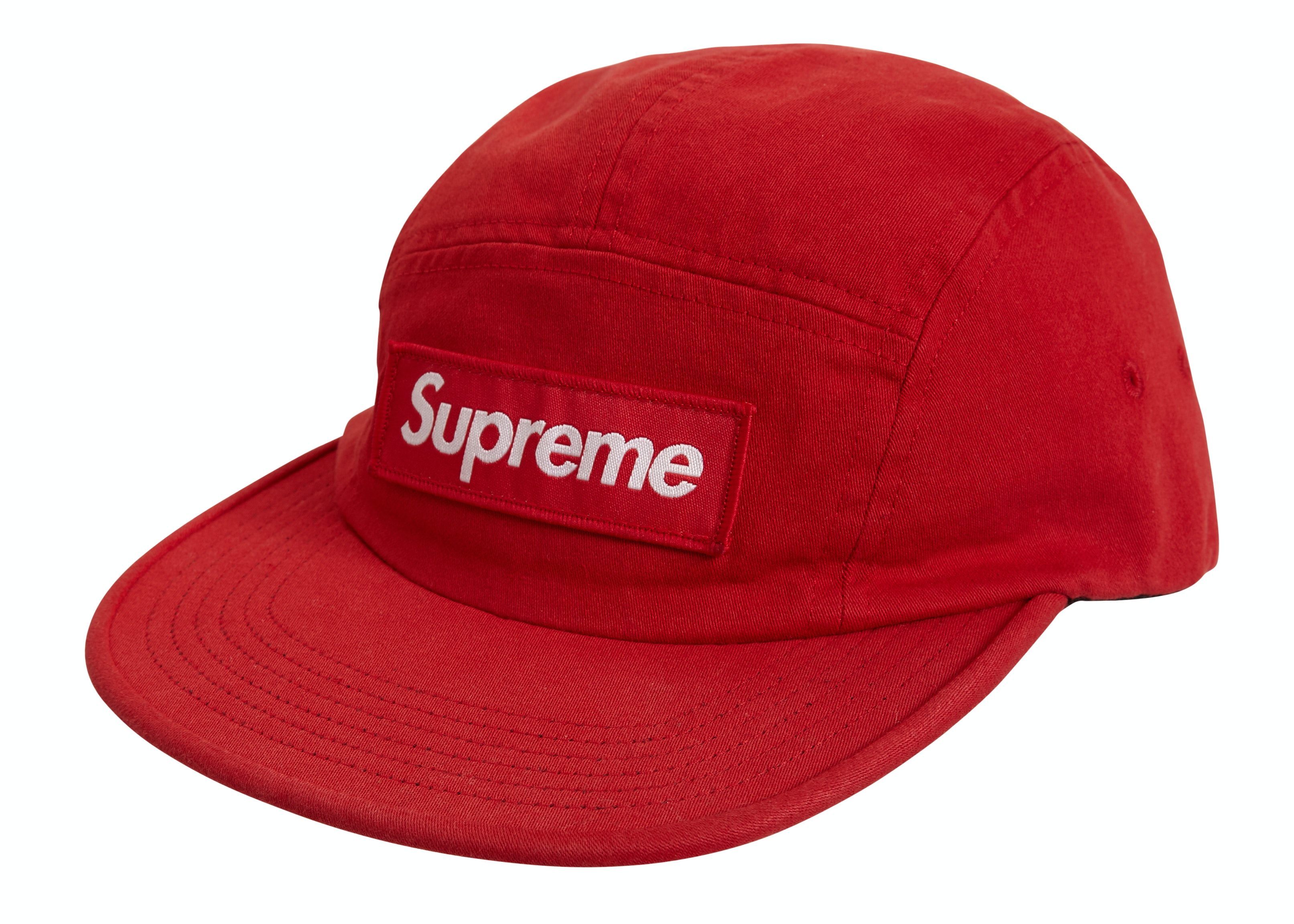 Supreme Military Camp Cap (Ss19) Red by Stock X