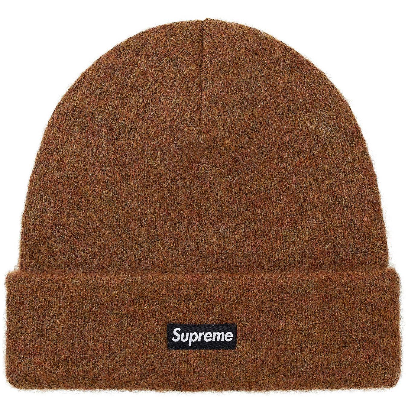 1f5593be Supreme Mohair Beanie (FW17) Brown