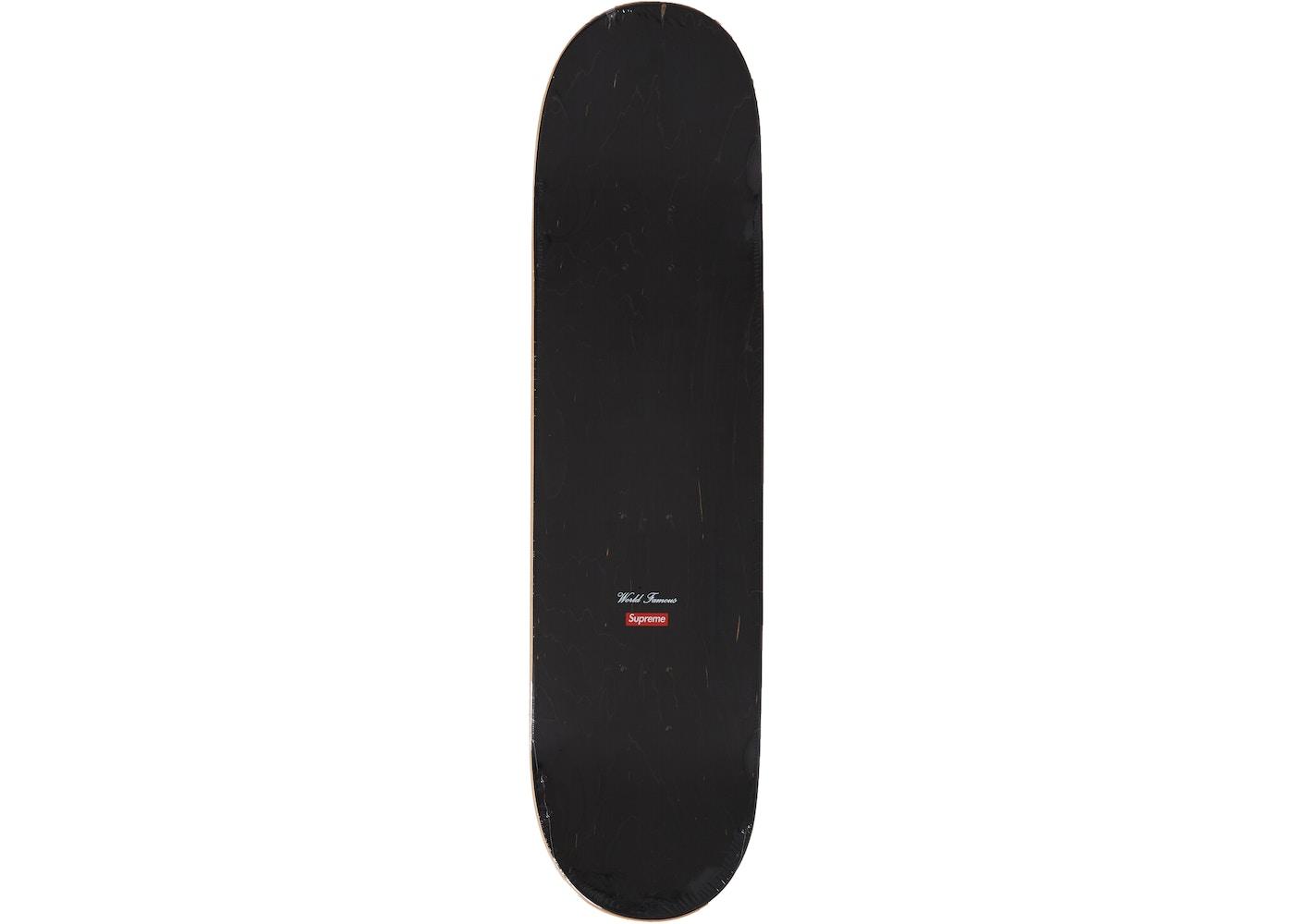 303bd679 Supreme Molotov Kid Skateboard Deck Black - SS19