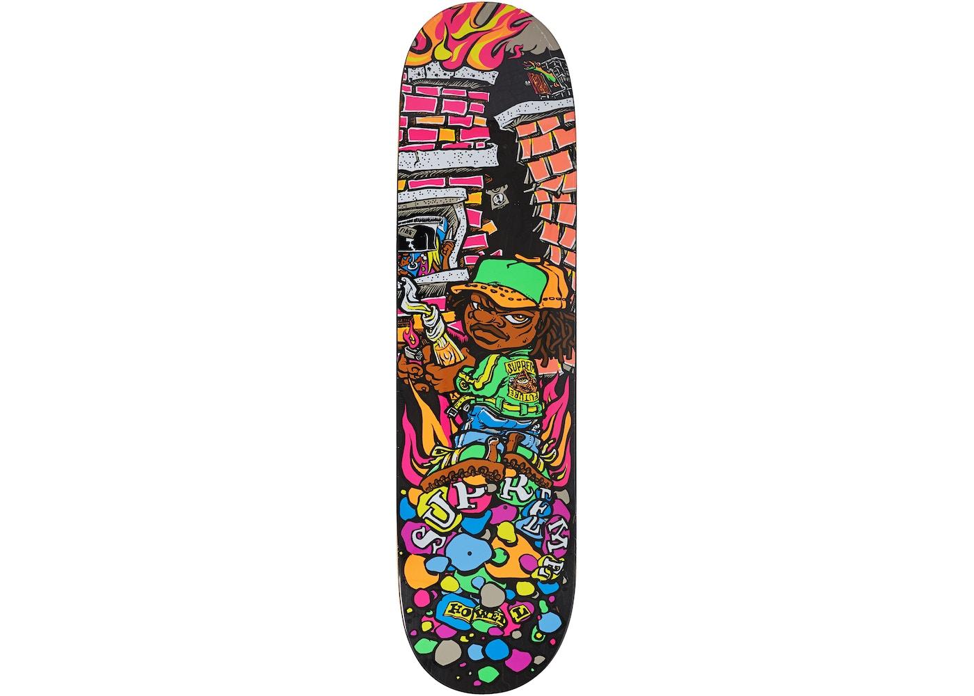 3752a57f Supreme Molotov Kid Skateboard Deck Black. Molotov Kid