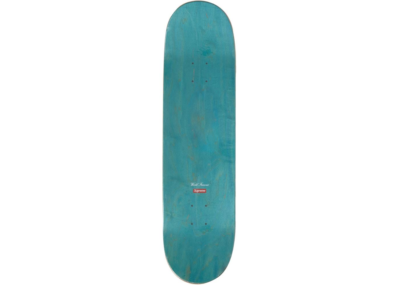 095cf603 Supreme Molotov Kid Skateboard Deck Teal - SS19