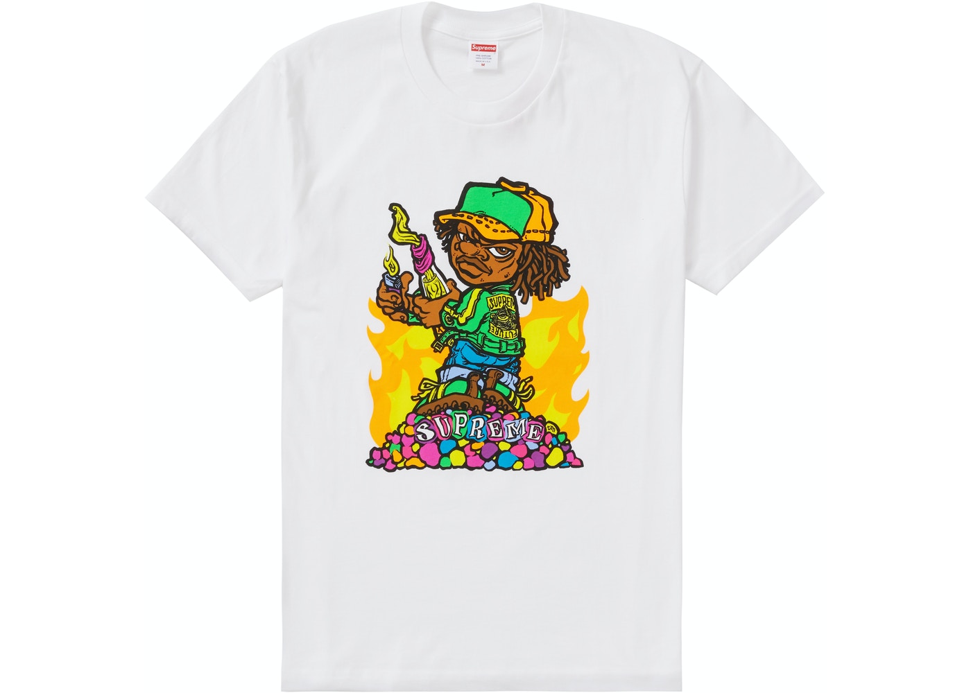 cc6ff8802893 Sell. or Ask. Size S. View All Bids. Supreme Molotov Kid Tee White