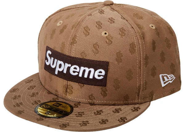 Supreme Monogram Box Logo New Era Brown ee0233b3e