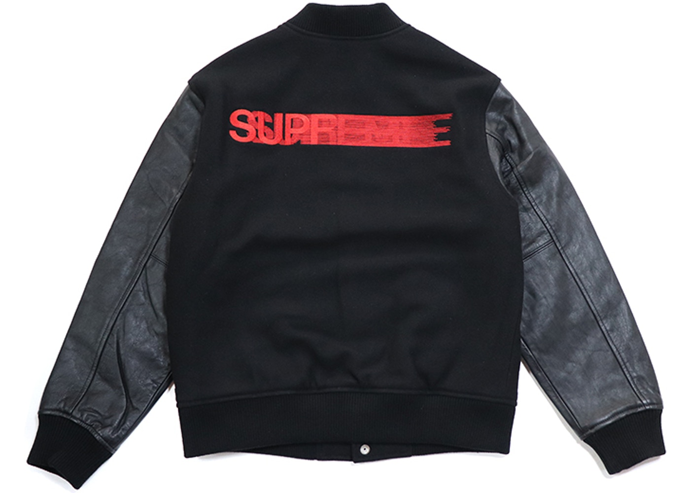 finest selection a6ca0 b129c Sell. or Ask. Size S. View All Bids. Supreme Motion Logo Varsity Jacket  Black
