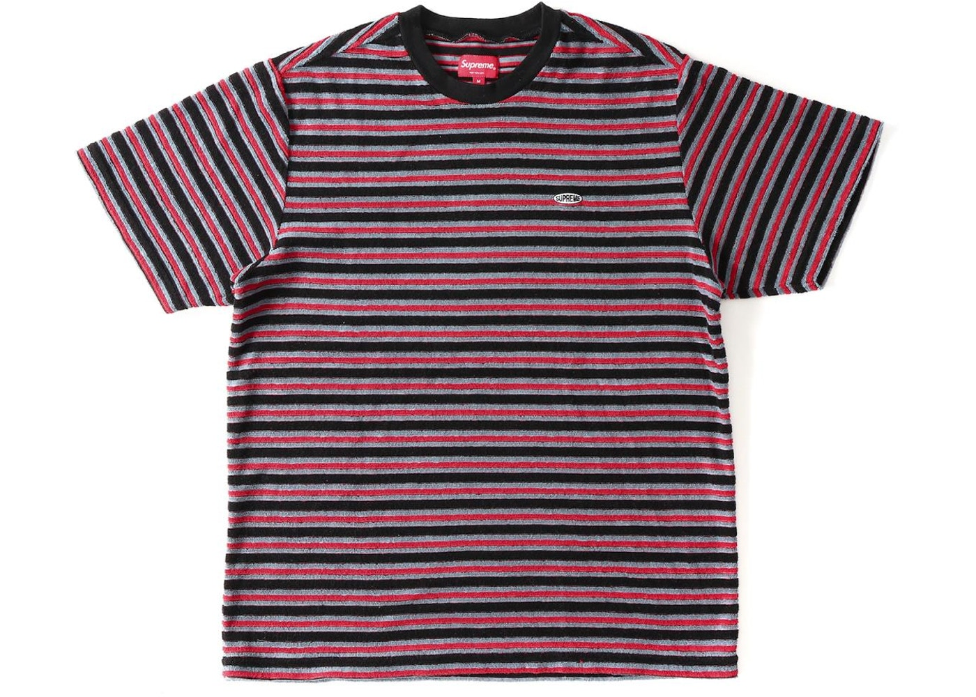 94ce416501 Sell. or Ask. Size L. View All Bids. Supreme Multi Stripe Terry Tee Black