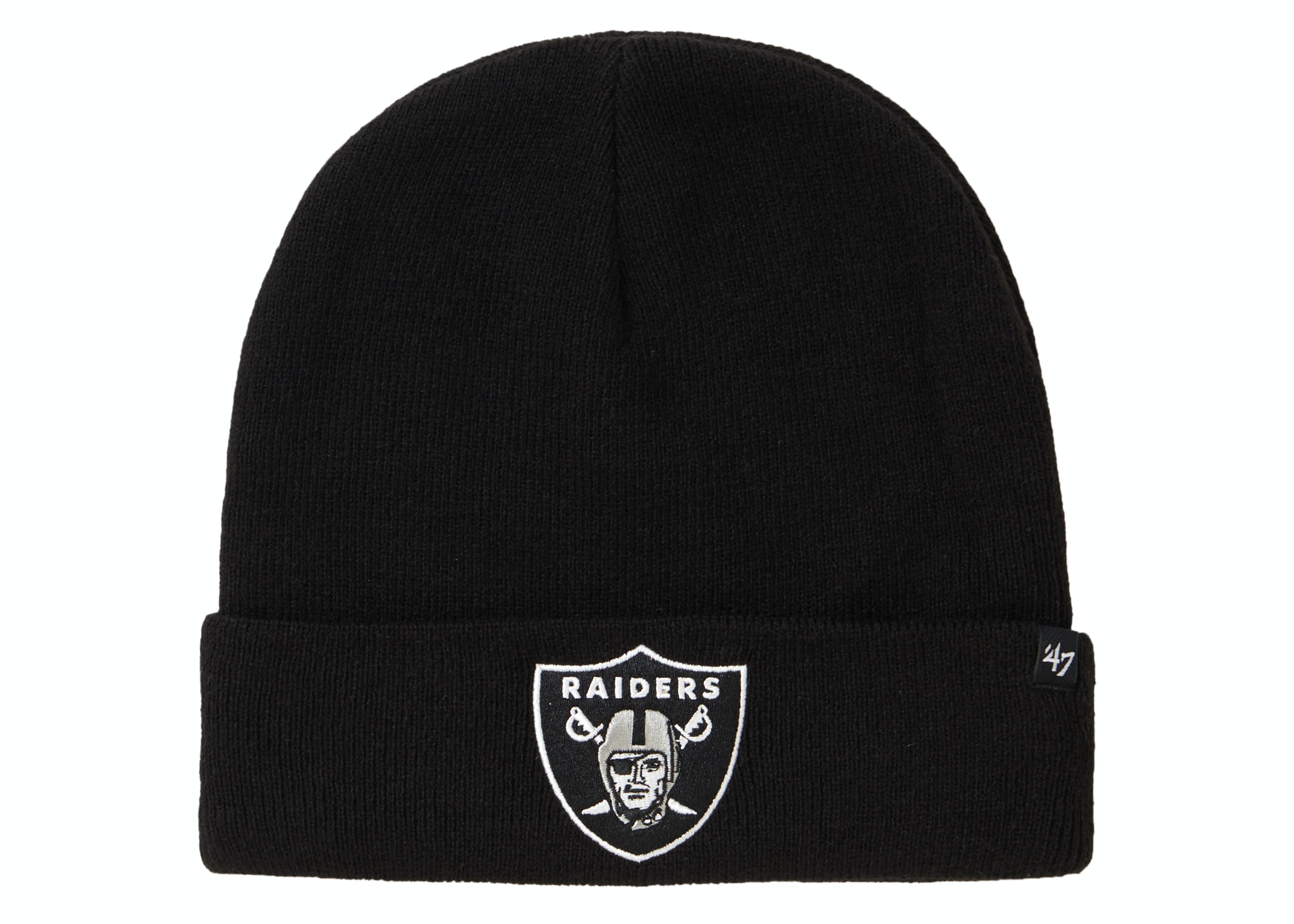 Supreme NFL x Raiders x '47 Beanie Black