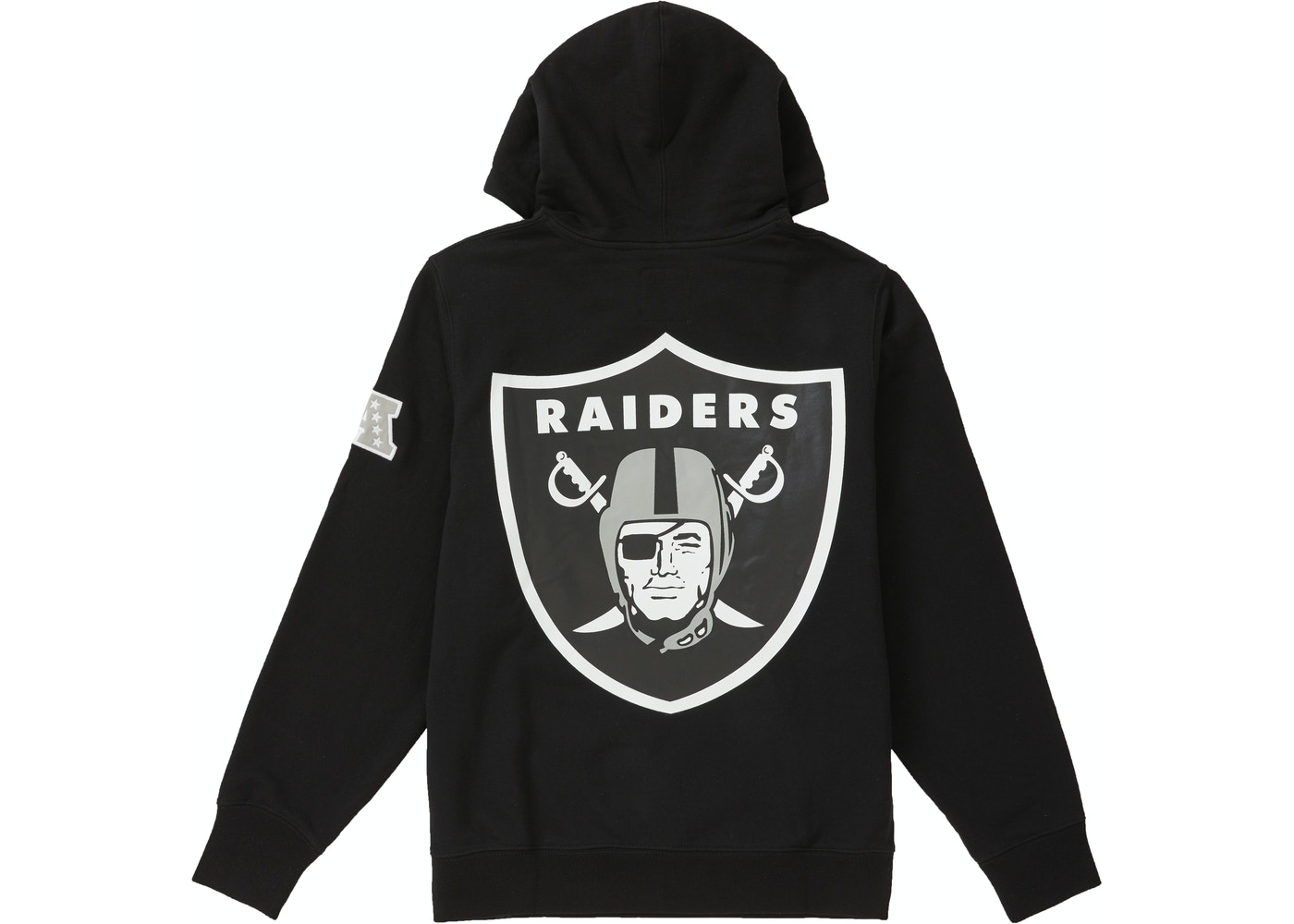 huge discount 10585 80fd9 Supreme NFL x Raiders x '47 Hooded Sweatshirt Black