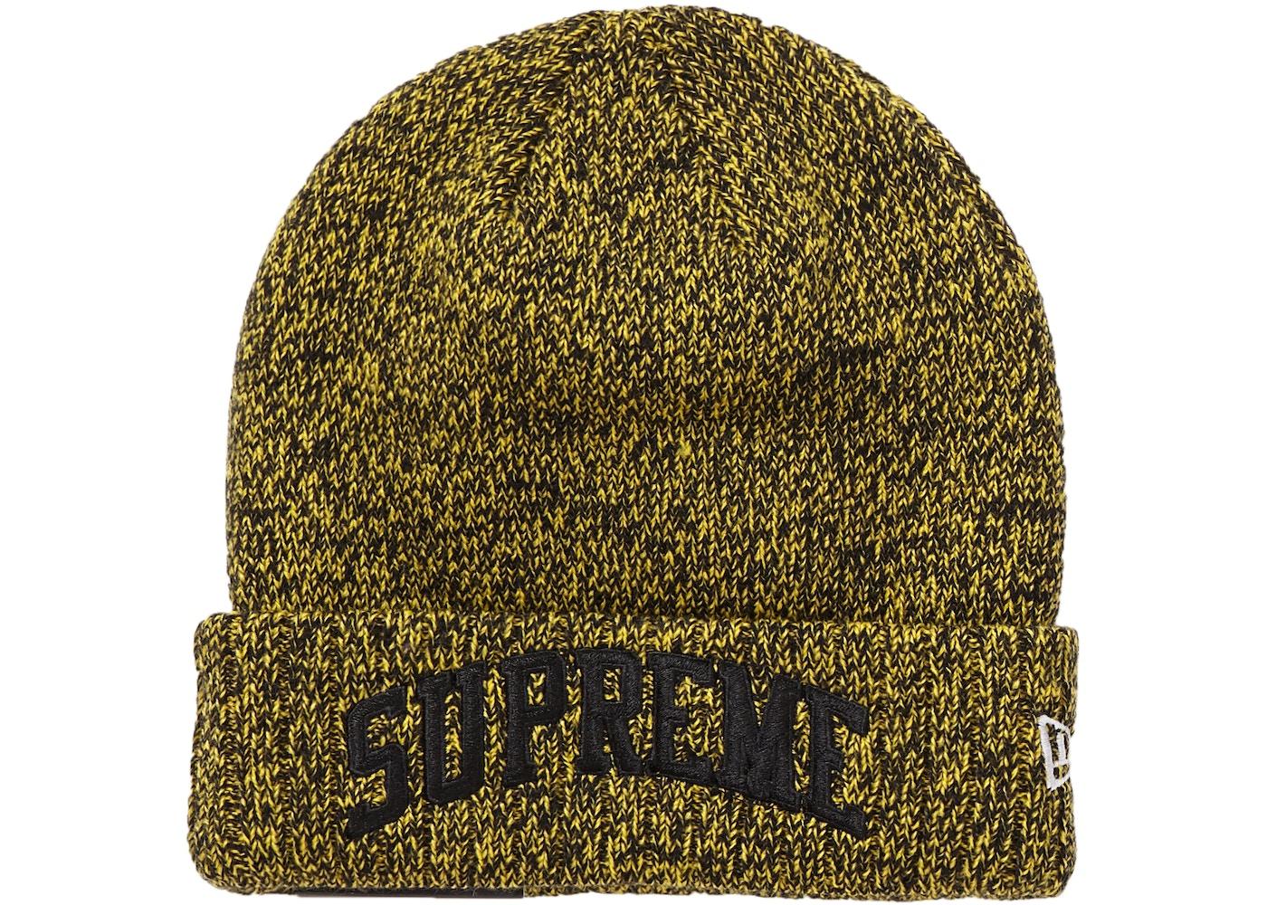Supreme New Era Arc Logo Beanie Yellow. New Era Arc Logo 9b5e9449d471