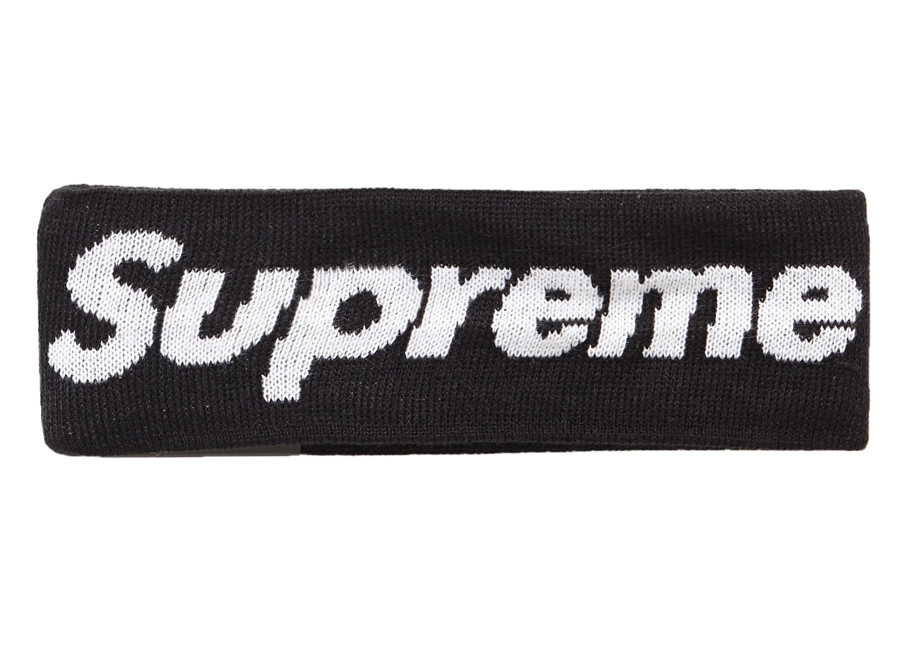 Supreme New Era Big Logo Headband (FW18) Black