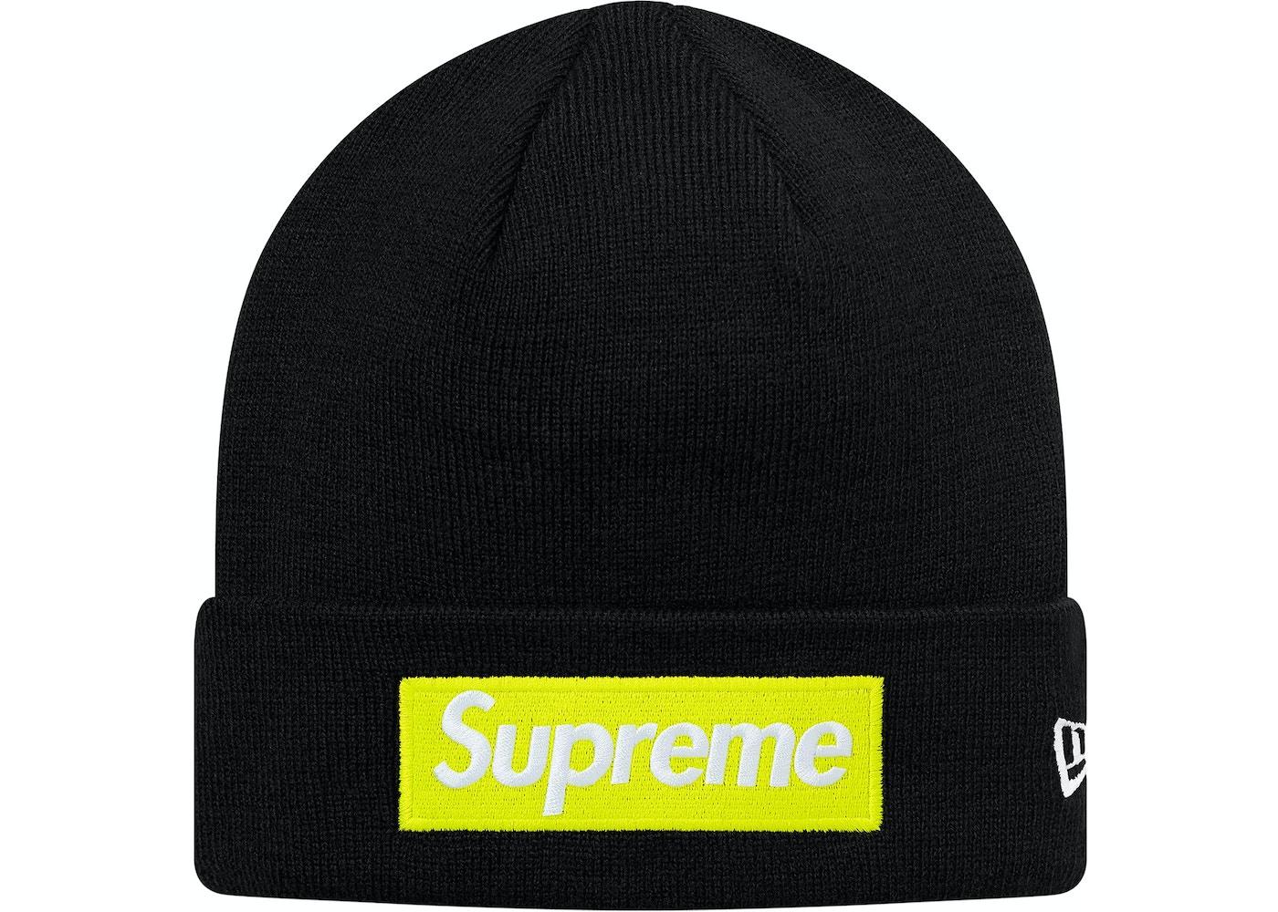 b86836cb9 Supreme New Era Box Logo Beanie (FW17) Black