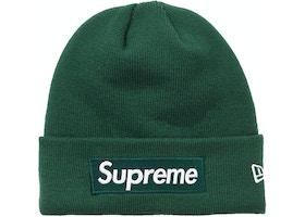 d160eba00 Supreme New Era Box Logo Beanie (FW18) Dark Green