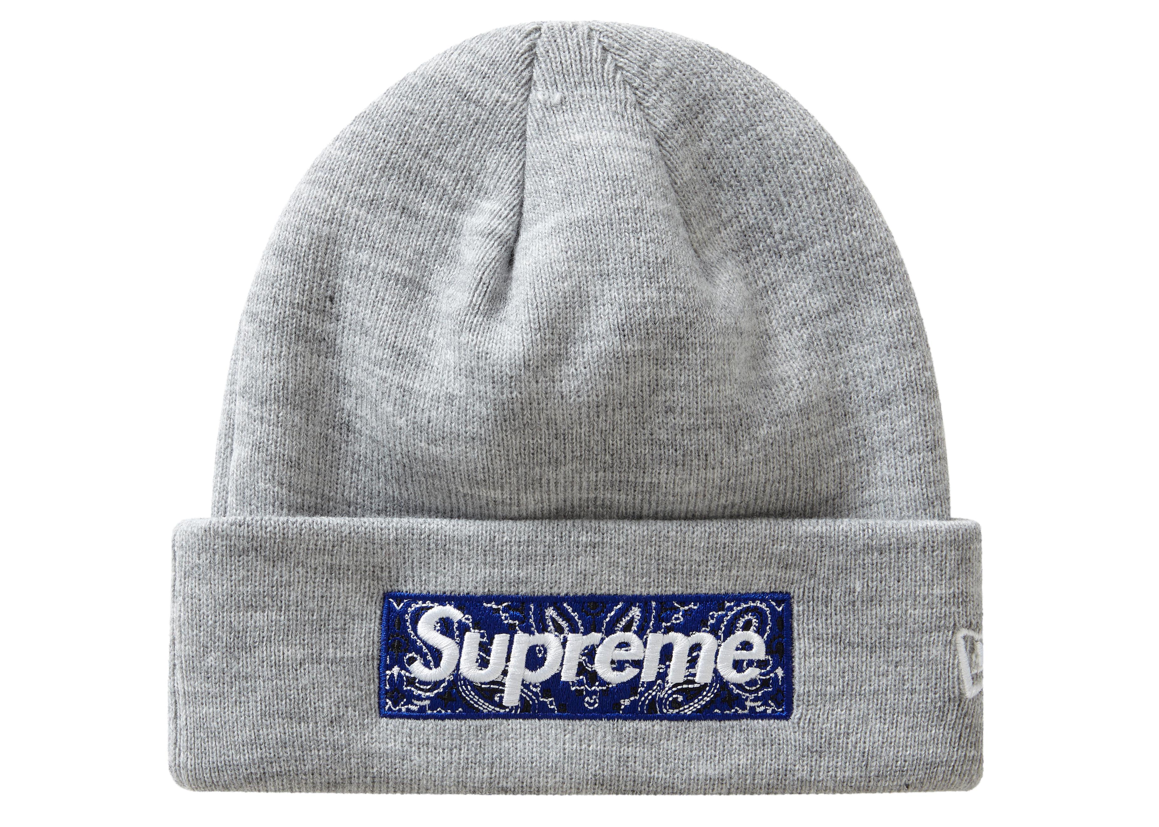 Supreme x New Era Box Logo Beanie Black FW19