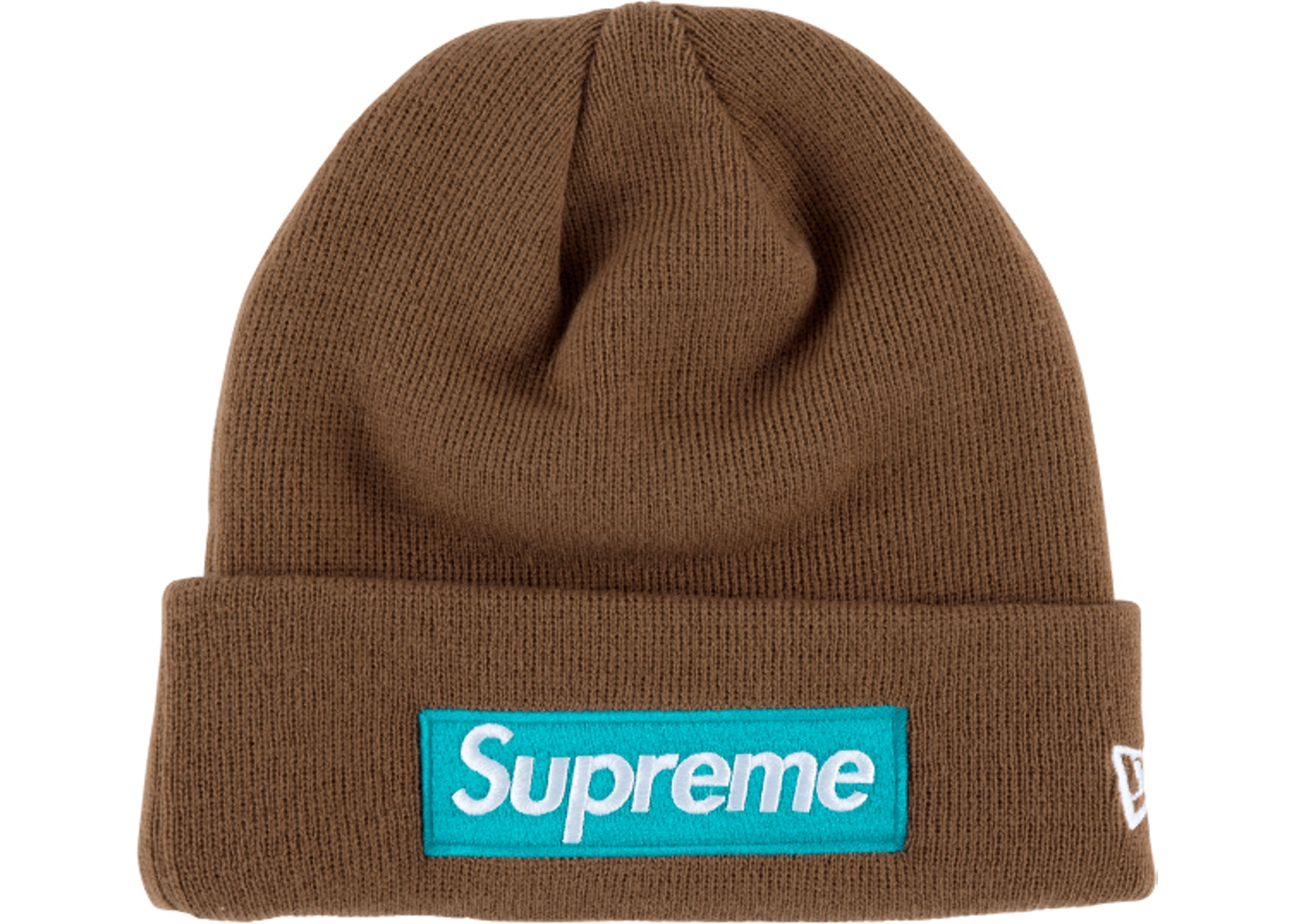 Supreme New Era Box Logo Beanie (FW17) Rust - FW17 fc5c2902cf7