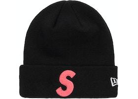 Supreme New Era S Logo Beanie (FW 19) Black