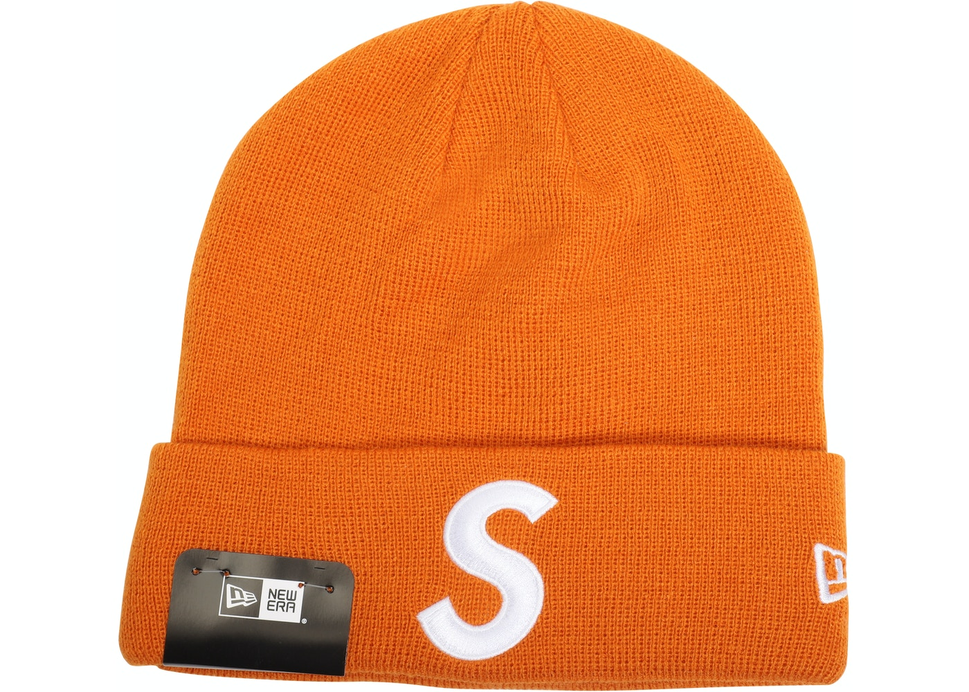 833128978ab Sell. or Ask. View All Bids. Supreme New Era S Logo Beanie Orange