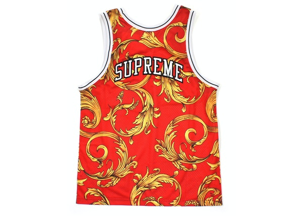 73fe778e04a Supreme Nike Basketball Jersey Red - SS14
