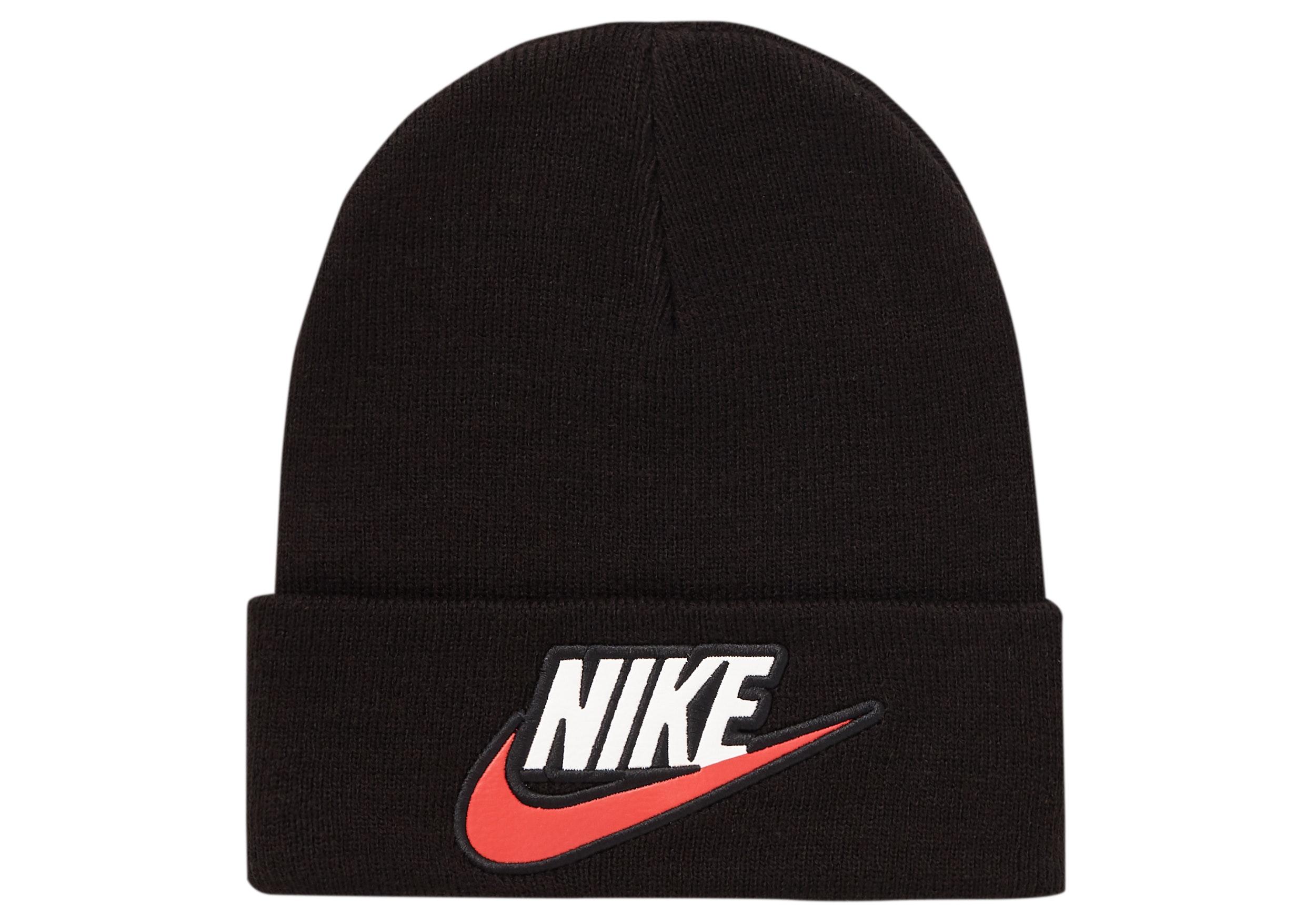 Supreme Nike Beanie Black