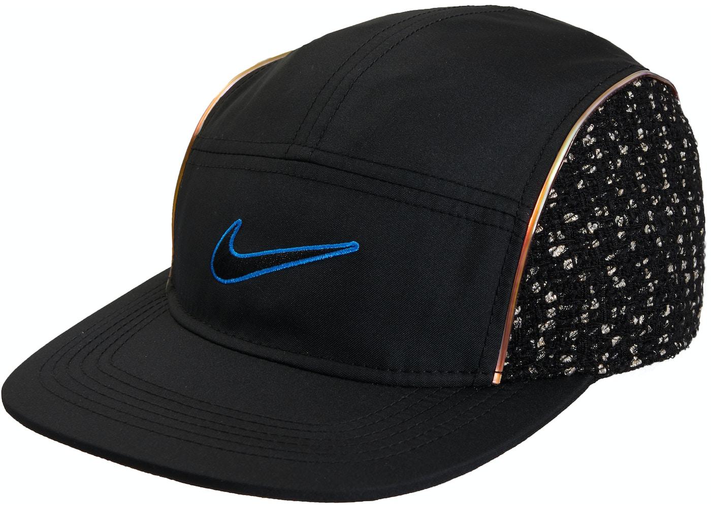 bcb990c1f8a Supreme Nike Boucle Running Hat Black. Nike Boucle Running