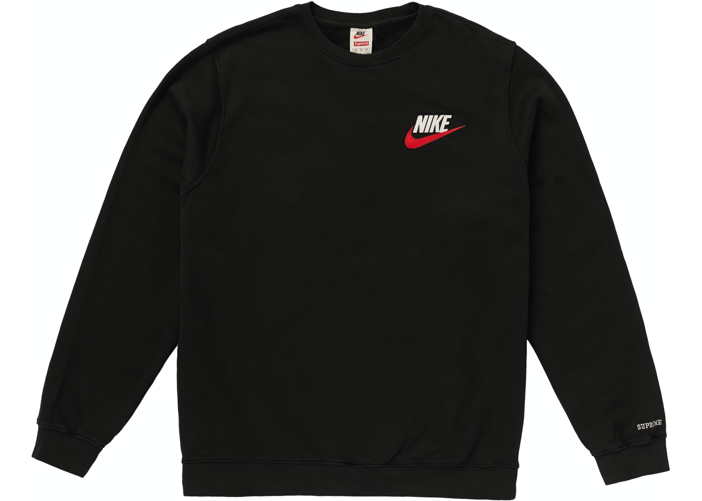Supreme Nike Crewneck Black - FW18 54935b340130