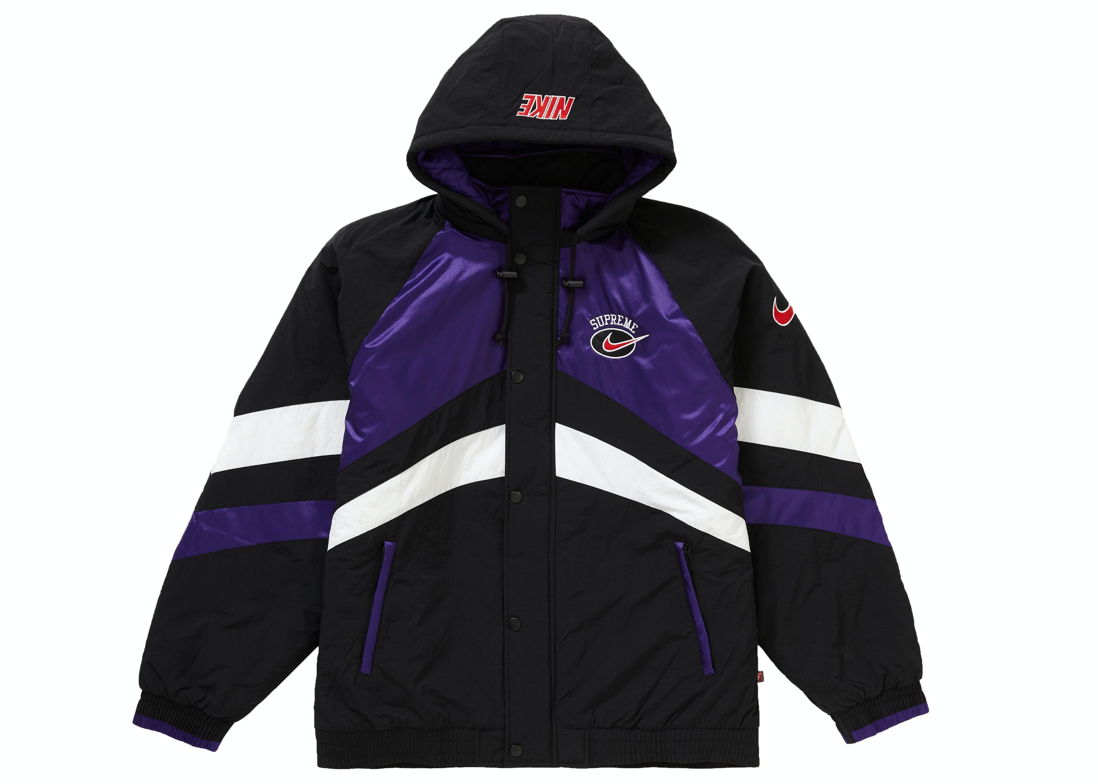 Supreme Nike Hooded Sport Jacket Purple