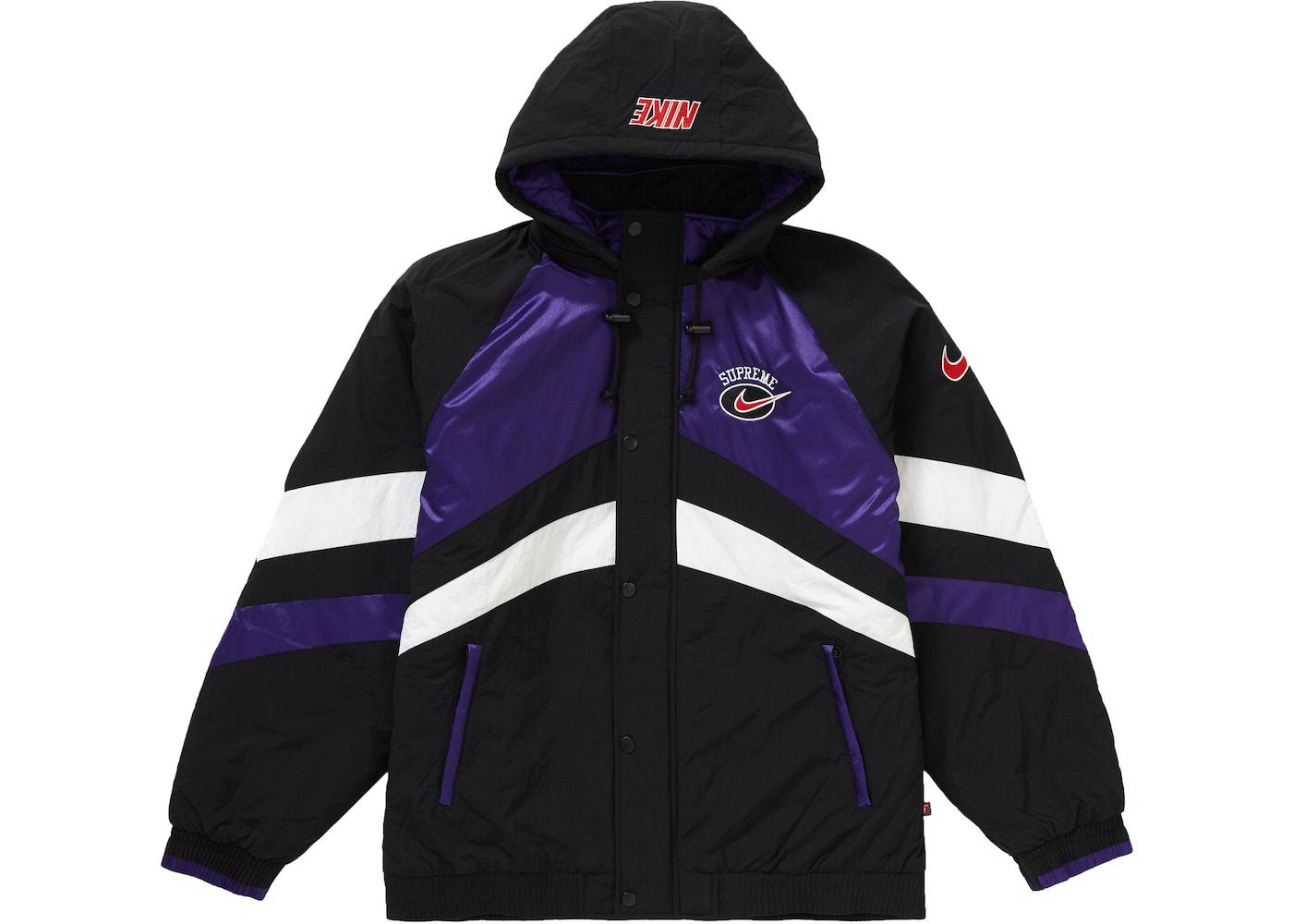 5d1ecc0284 Supreme Nike Hooded Sport Jacket Purple