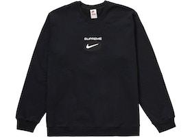 Supreme Nike Jewel Crewneck Black