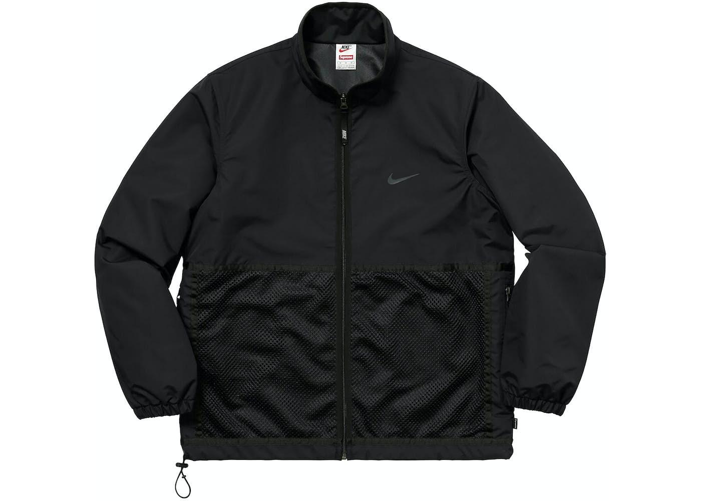 Supreme Nike Trail Running Jacket Black