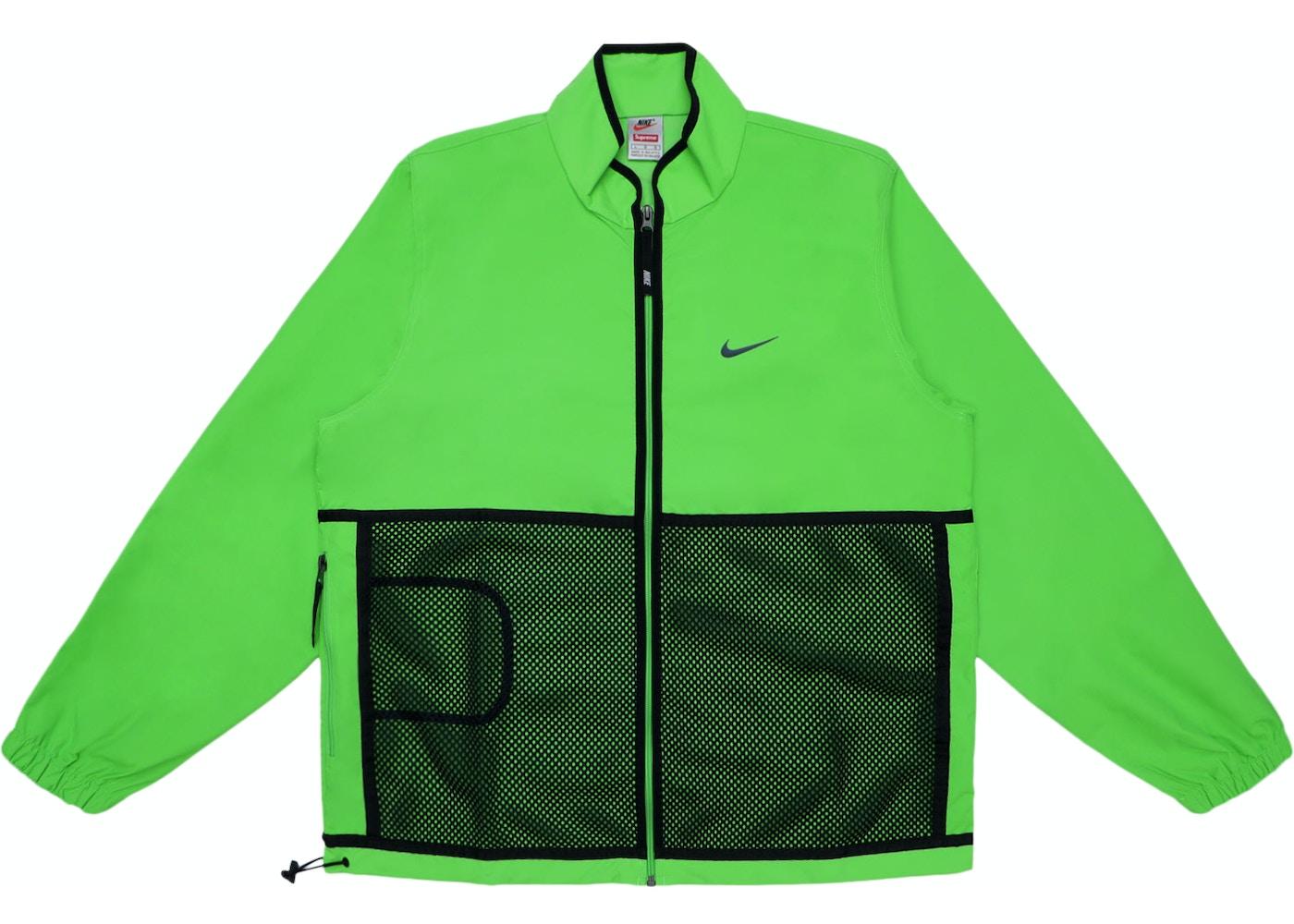 Supreme Nike Trail Running Jacket Green Fw17