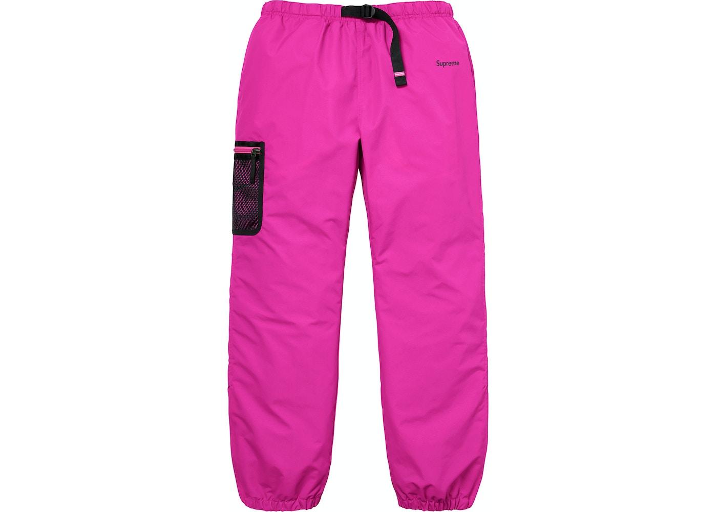 Supreme Nike Trail Running Pant Pink