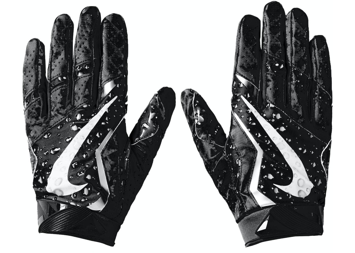 66d17600c4f Supreme Nike Vapor Jet 4.0 Football Gloves Black - FW18