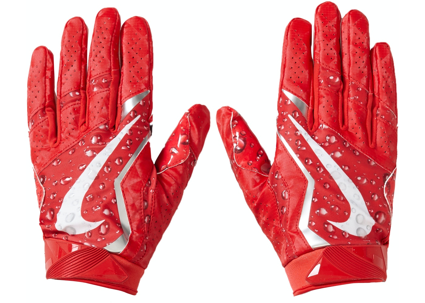 Supreme Nike Vapor Jet 4.0 Football Gloves Red - FW18 0f97909b4
