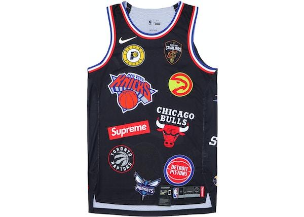 promo code 8598a bc497 Supreme Nike/NBA Teams Authentic Jersey Black