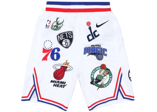 92daacc44dec Supreme Nike NBA Teams Authentic Short White