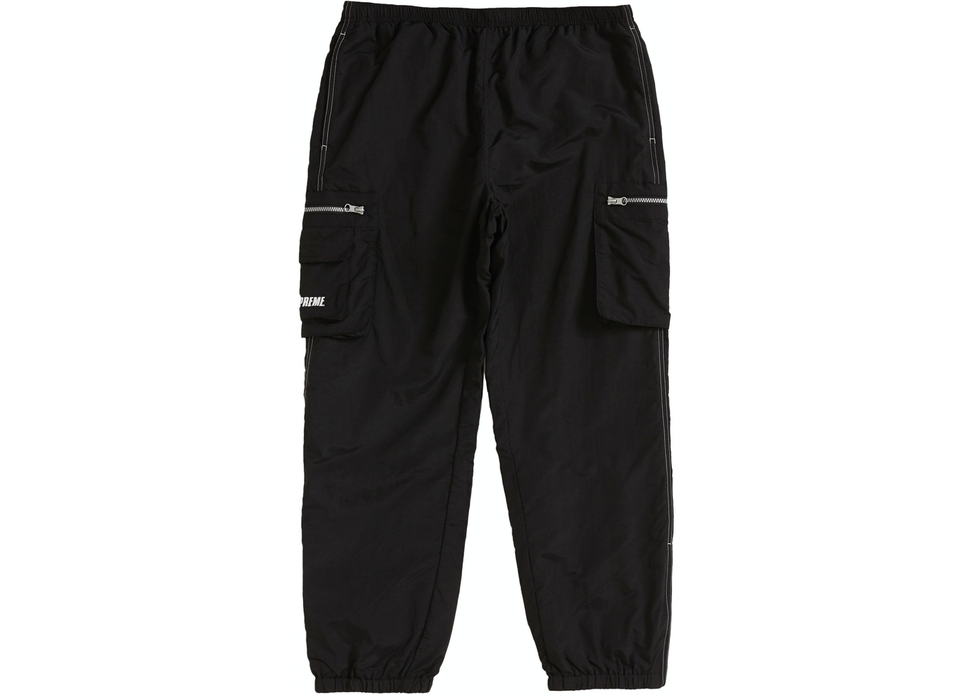 2019 real newest collection preview of Supreme Nylon Cargo Pant Black