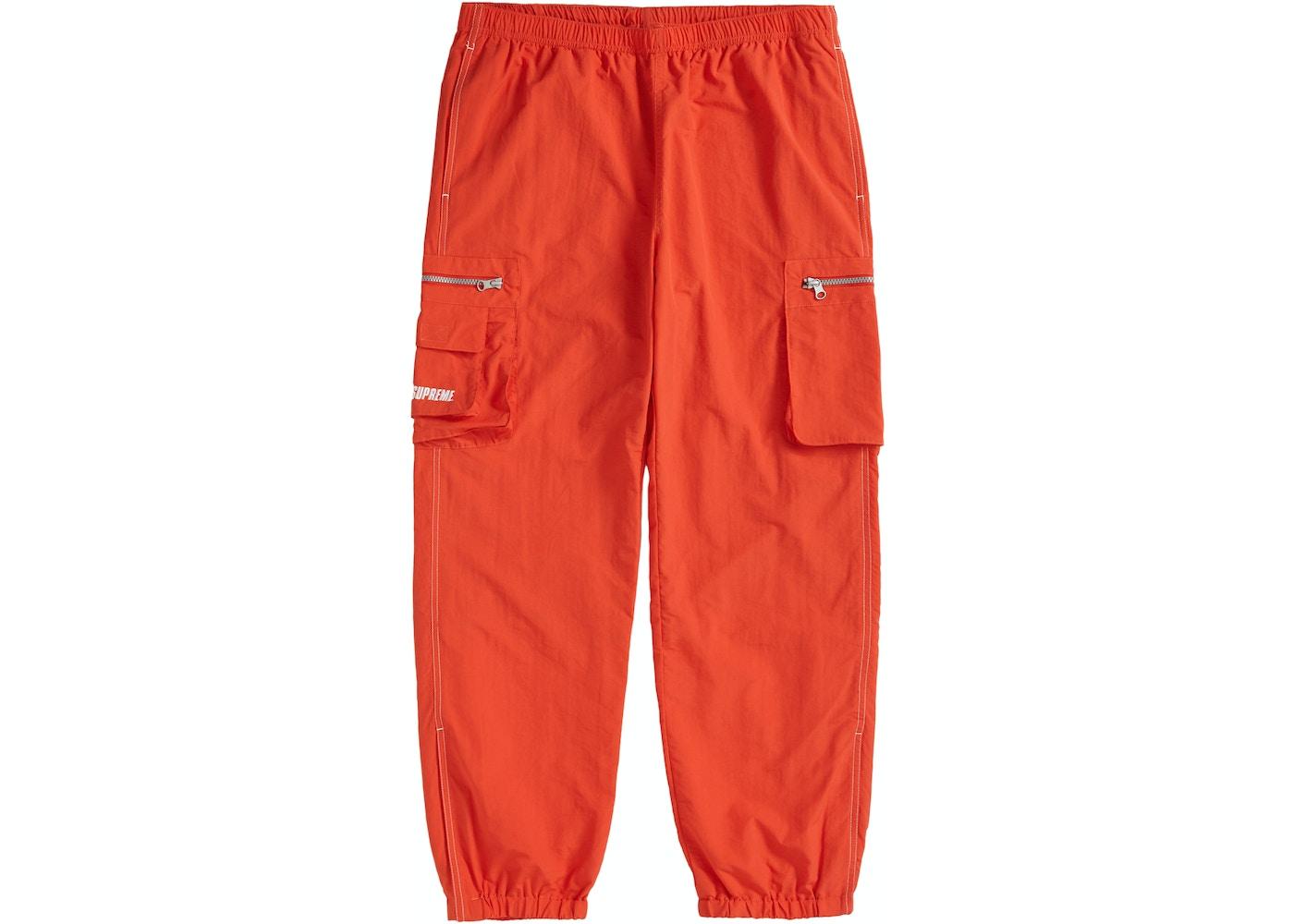 discount shop search for official catch Supreme Nylon Cargo Pant Dark Orange