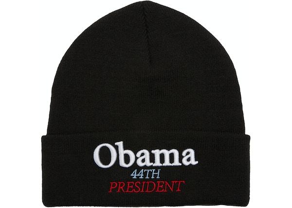 c37bfd2a6d Supreme Obama Beanie Black - FW18